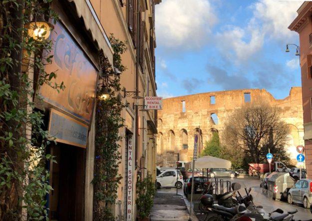 Cafè Cafe Via dei Santi Quattro Colosseo